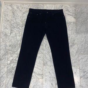 Corduroy Levi's 502 pants